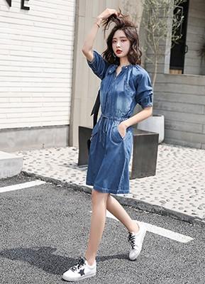 MWD9096 牛仔连衣裙