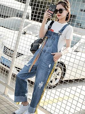 MW6942牛仔背带裤【主推爆款】