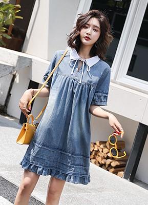 MWD9091 牛仔连衣裙