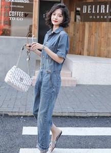 MWP9051D 常规厚度牛仔连体裤【主推爆款】