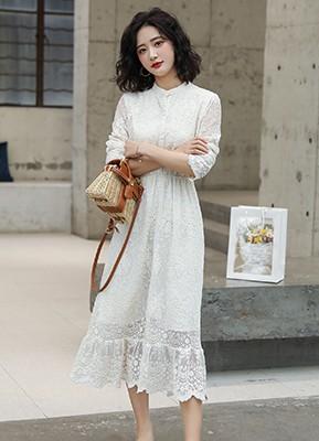 MW0007 蕾丝连衣裙(停产)