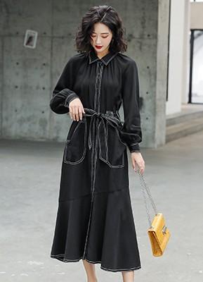 MW0005 长袖连衣裙