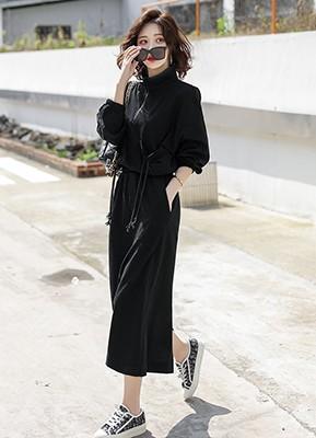 MW0029B 卫衣+半身裙两件套