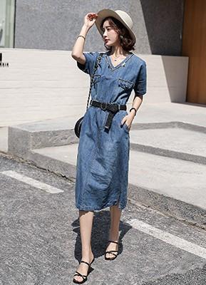 MW0056 短袖连衣裙
