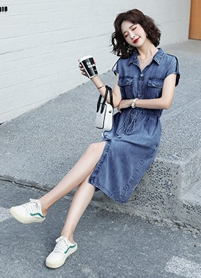MW0103D 牛仔连衣裙(主推爆款)