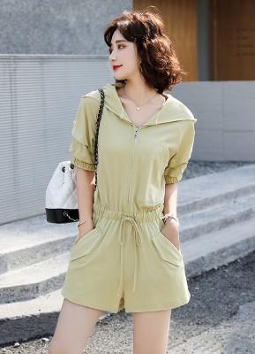 MW0105H 短袖连体裤