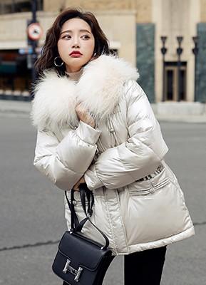 MW0265A 大毛领羽绒服